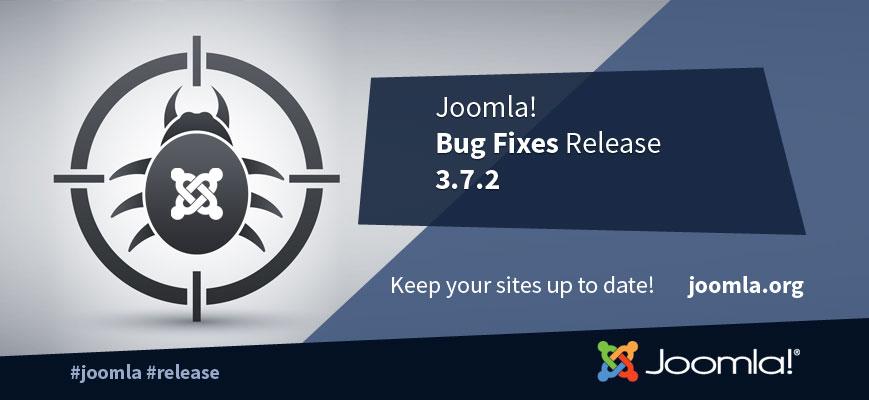 Joomla 3.7.2 релиз исправлений