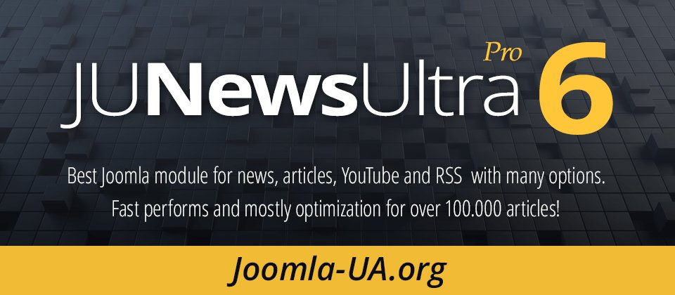 Релиз модуля JUNewsUltra Pro 6.6.2