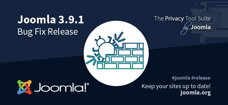 Релиз Joomla 3.9.1