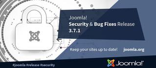 Релиз безопасности Joomla 3.7.1