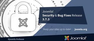 Joomla 3.7.3 релиз безопасности и исправлений