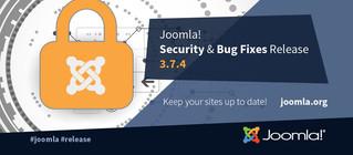 Joomla 3.7.4 релиз безопасности и исправлений