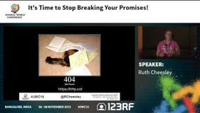 JWC15 - It's Time To Stop Breaking Your Promises